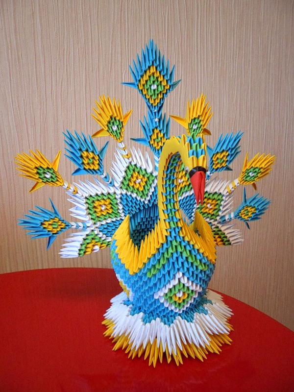 Объемное модульные оригами